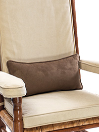 Comfort Suede Kidney Pillow